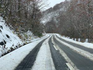 八幡平の道路状況